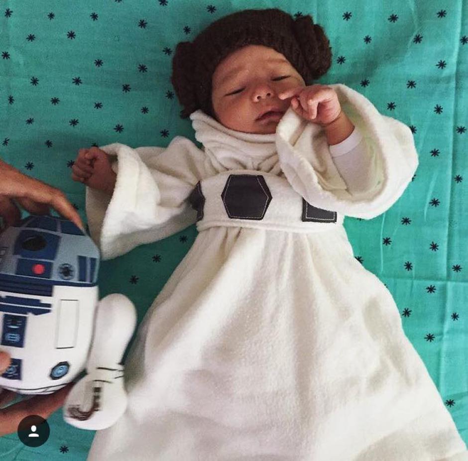 Los personajes de Star Wars se apoderan de los hogares de todo el mundo. (Foto: Facebook/Maria José Rendón)