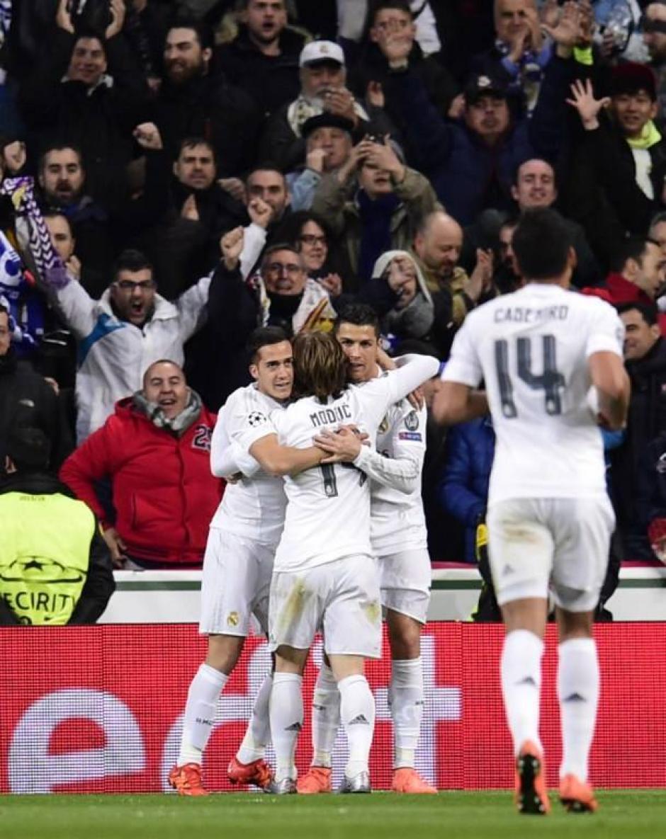 James Rodríguez marcó el segundo gol del Madrid. (Foto: AFP)