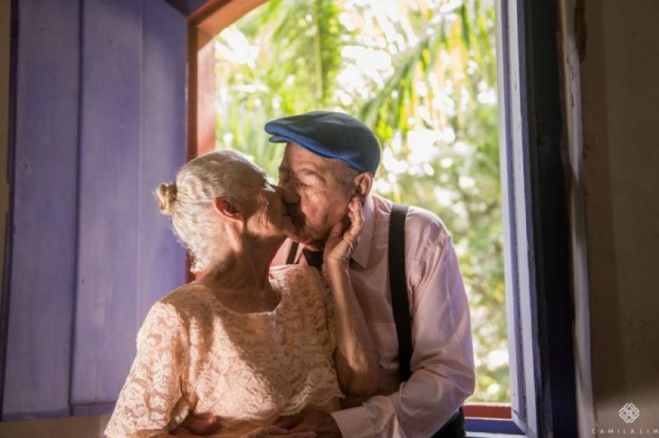 La pareja de ancianos reside en Brasil. (Foto: Facebook/Camila Lima Fotografía)