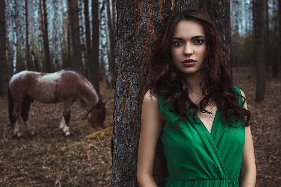 Esta es la mujer con el rostro más hermoso. (Foto: Sputnik International)