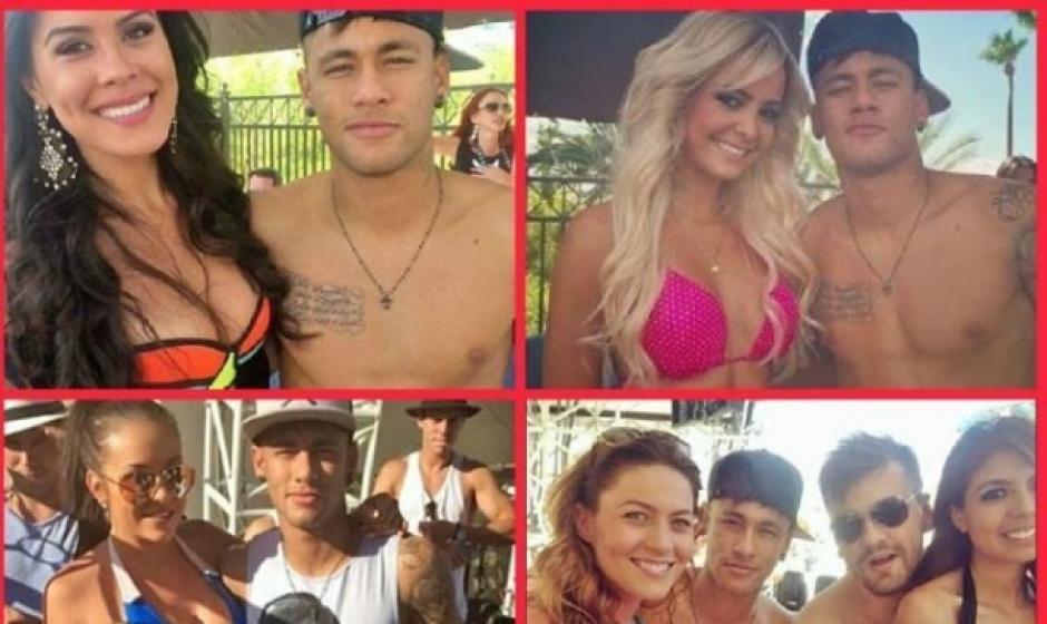 Como buen brasileño, Neymar gusta de fiestas y la vida nocturna. (Foto: Twitter)