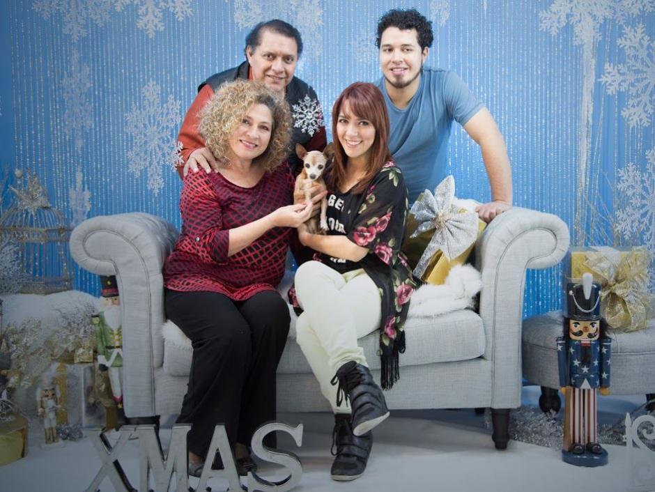 Josué Morales y su familia también se unen a esta campaña. (Foto: Maribel Cabrera)