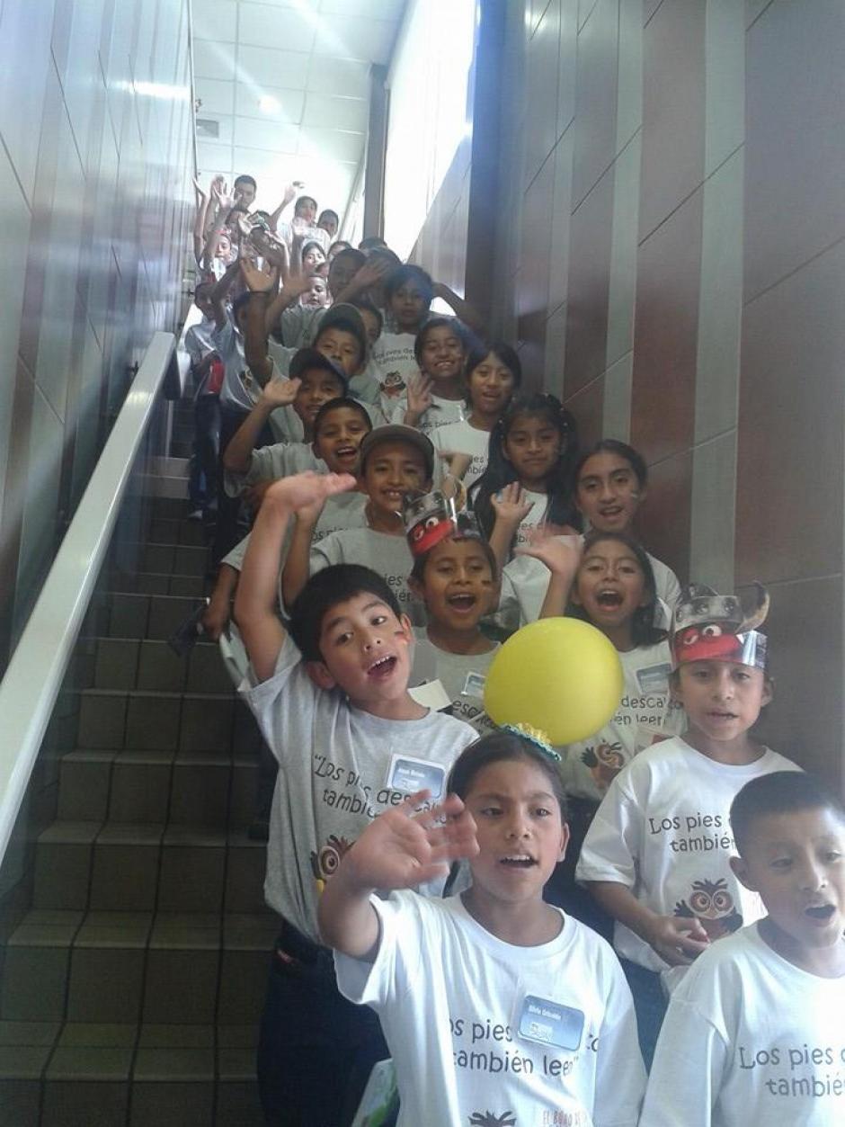 Esta es la cuarta ocasión en la que un grupo de niños viajará a la Feria del Libro. (Foto: Facebook/Biblioteca Bernardo Lemus Mendoza)