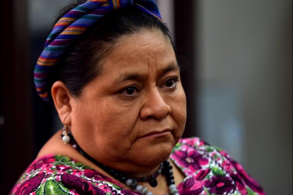 Rigoberta Menchú recibió el Premio Nobel de la Paz en 1992 por su lucha de la justicia social. (Foto: Soy502)