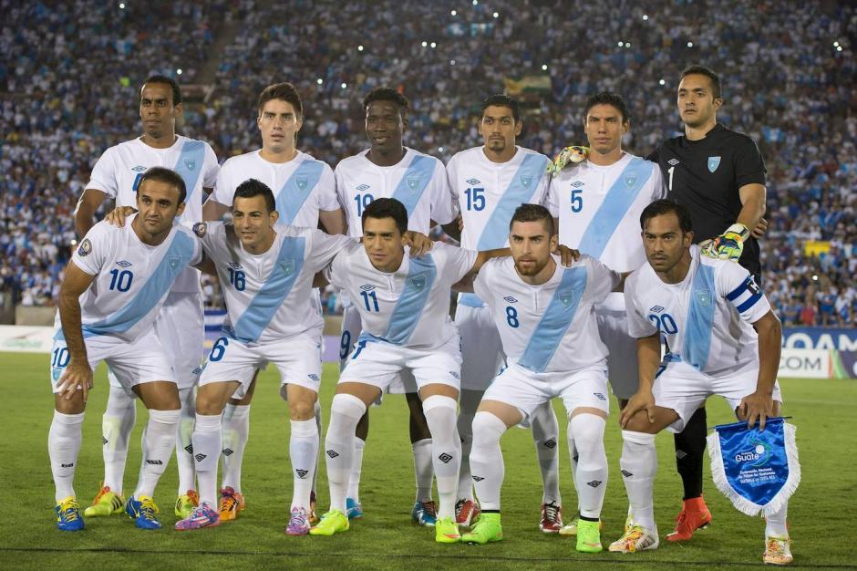 Selección de futbol guatemala brasil 2014