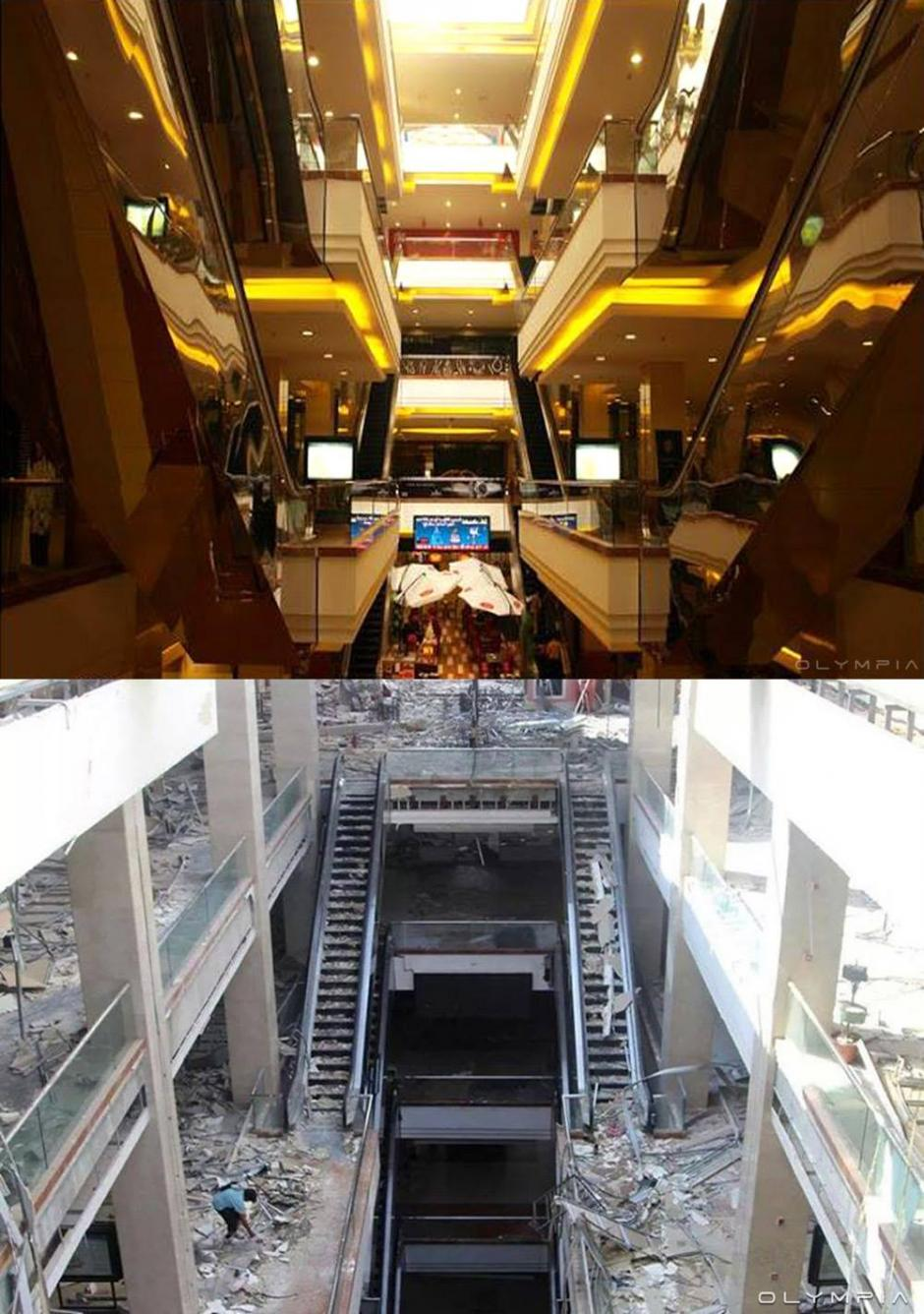 Centro comercial Shahba Mall. (Foto: Olympia.Rest/Facebook)