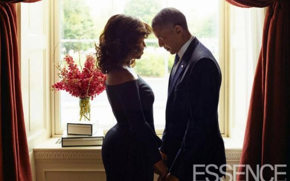 La pareja presidencial de Estados Unidos posó románticamente para una revista. (Foto: telegraph.co.uk)