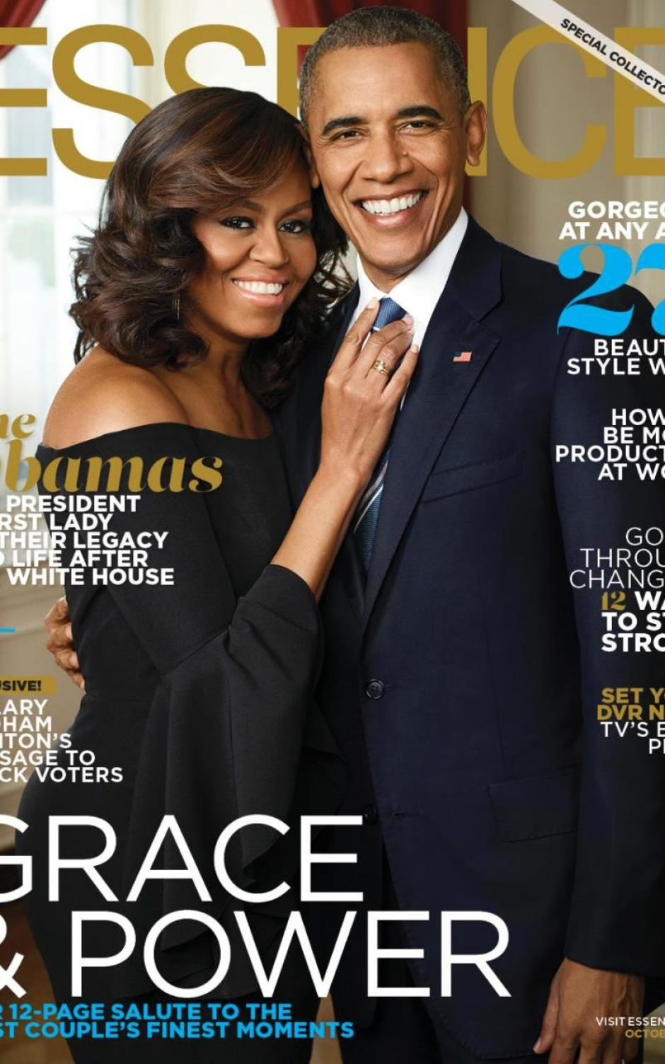 "Los Obama saldrán en la portada de ""Essence"".  (Foto: telegraph.co.uk)"