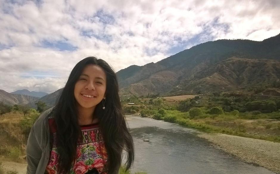 Sara Curruchich espera representar con mucho orgullo a los guatemaltecos ante la ONU. (Foto: Facebook Sara Curruchich)