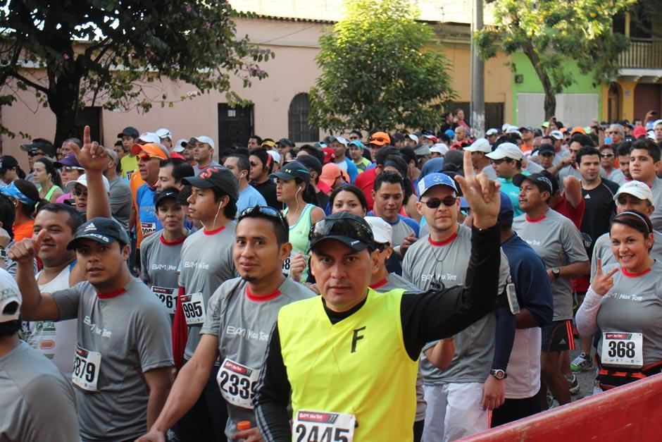 Cada vez son más los guatemaltecos que se vuelven corredores y participan en las distintas carreras a lo largo del año