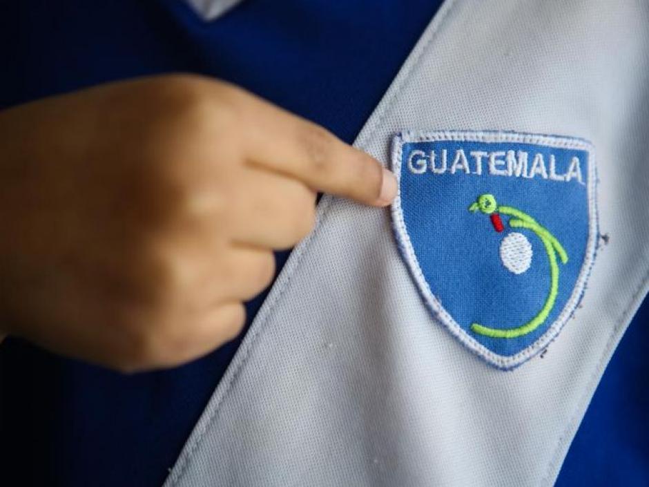 Cruz es de origen Guatemalteco y fue adoptado por la familia estadounidense Colvin. Se desconoce información de su familia biológica. (Foto: Alton Strupp/The Courier-Journal)