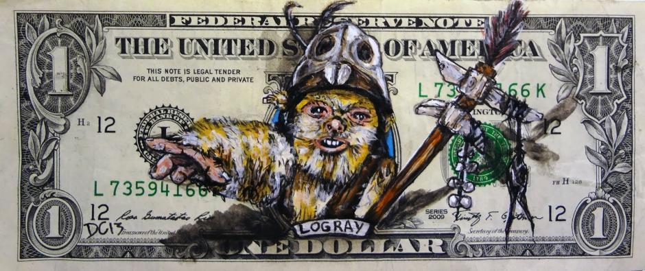 Logray era el chamán principal de la tribu ewok que vivía en la Aldea del Árbol Brillante en Endor. (Foto: artes9.com)