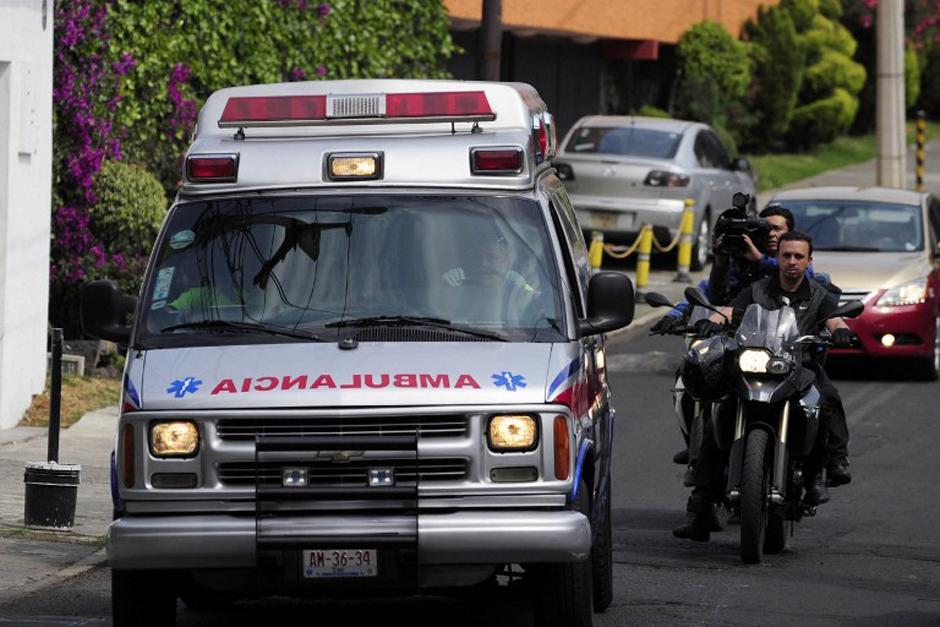 El martes recién pasado el Nobel de Literatura salió del Hospital en donde se encontraba y fue llevado hasta su casa (en México), en donde los familiares dieron el anuncio del deterioro de su salud (Foto: AFP)