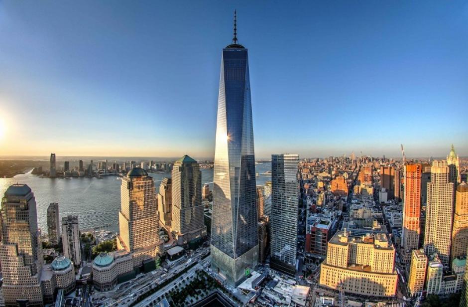 En el lugar de las desaparecidas Torres Gemelas fue construido el One Wolrd Trade Center, en Manhattan. (Foto: aecom.com)