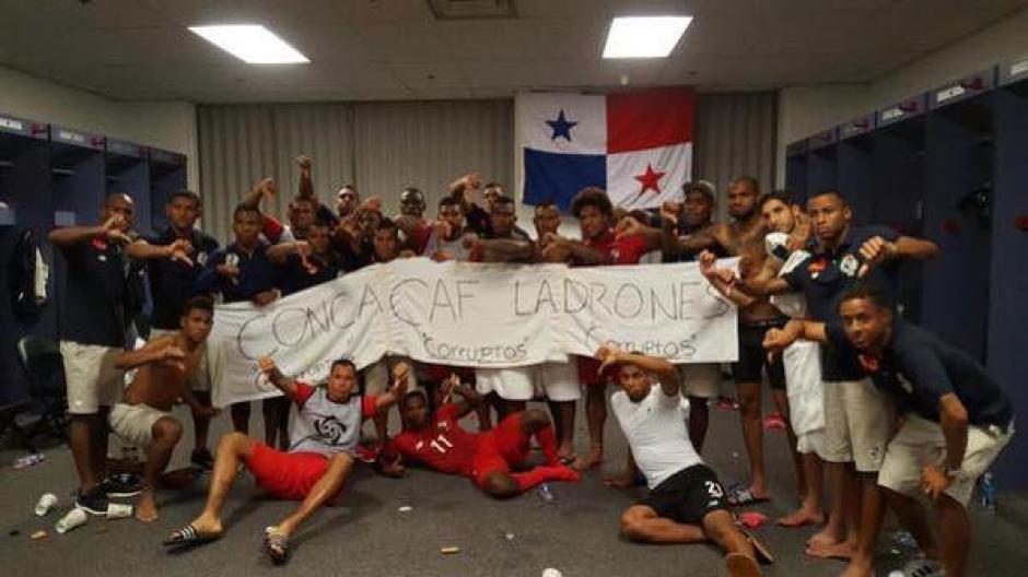 Los futbolistas panameños enviaron un contundente mensaje a la Concacaf.