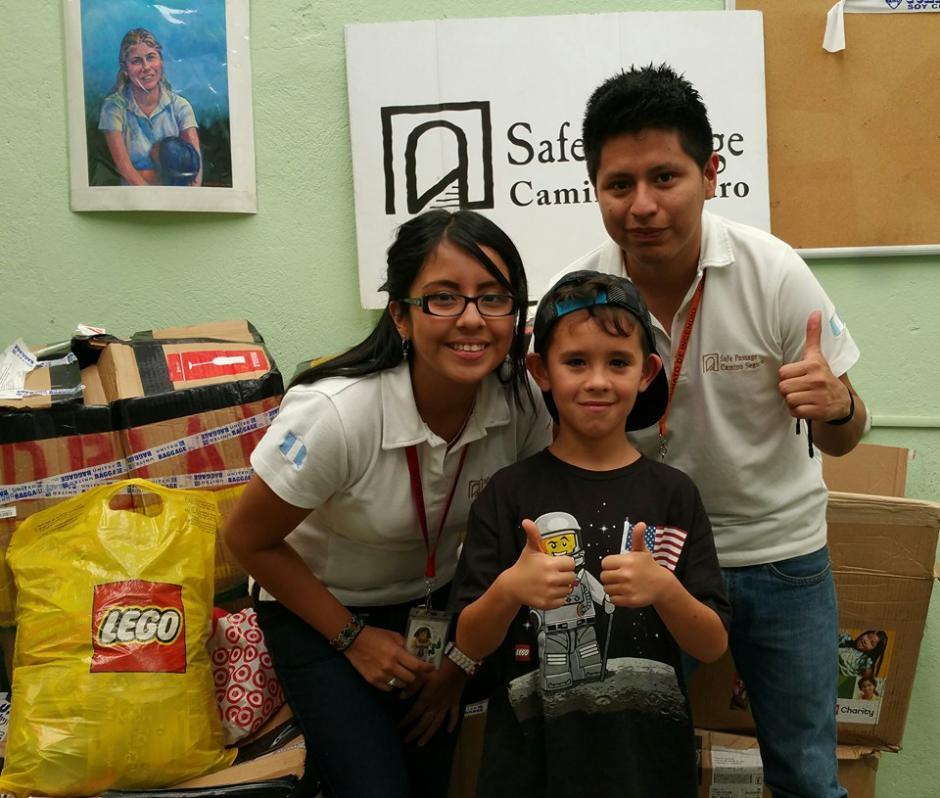 Adrián se ha convertido en el mejor amigo de los niños y los voluntarios de Camino Seguro.(Foto: Camino Seguro)