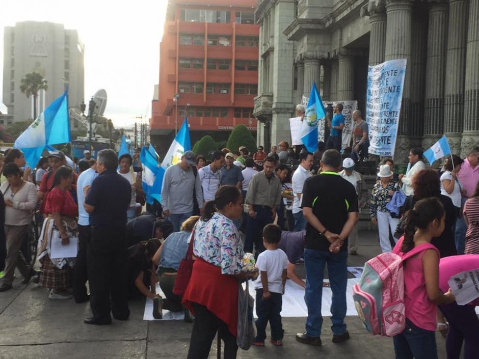 Los guatemaltecos cumplieron tres meses de protesta contra la corrupción. (Foto: Carlos Duarte/Nuestro Diario)