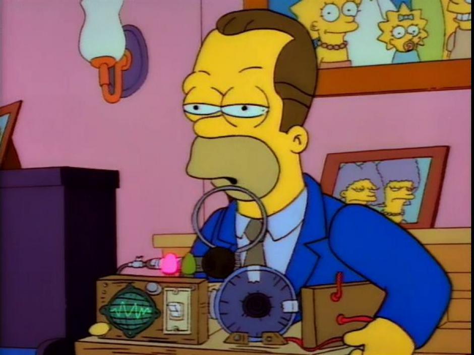 Homero no siempre ha sido calvo. (Imagen: frinkiac.com)