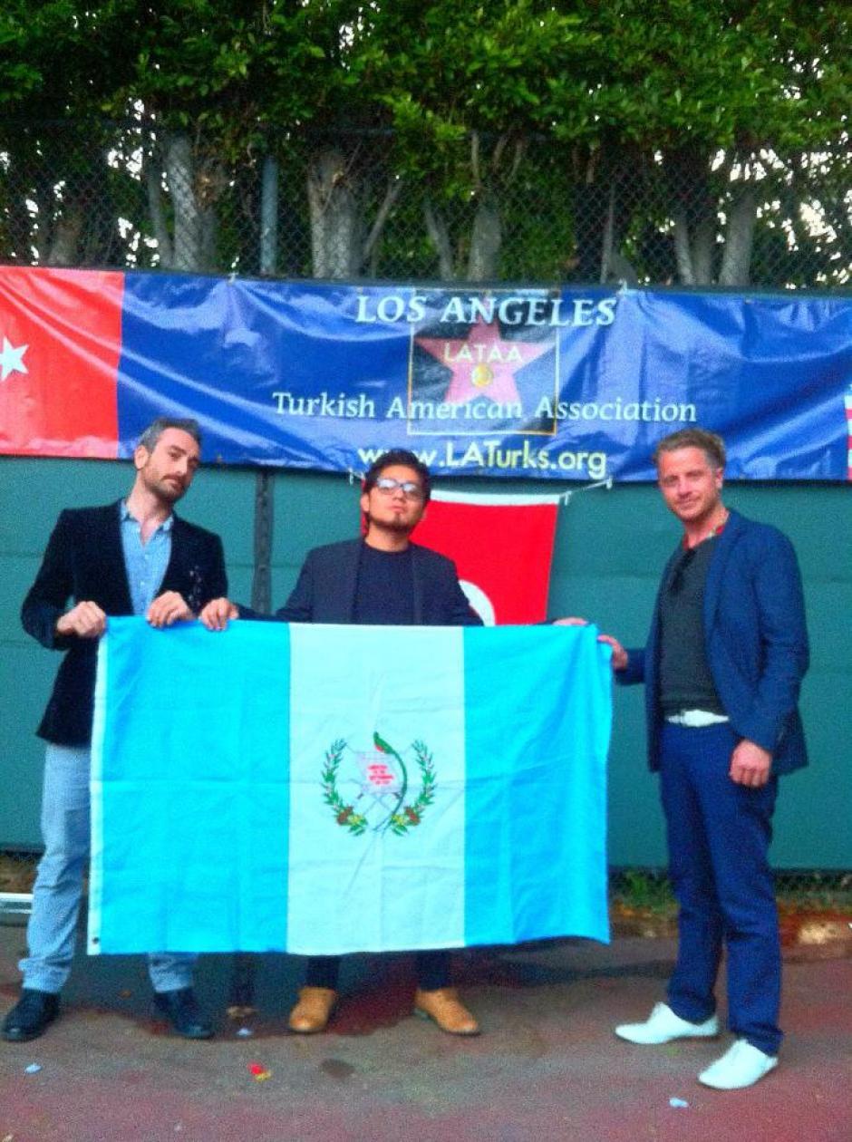 Los compañeros de Saddler conocieron Guatemala antes de conocerse y tienen mucho cariño por este país. (Foto: Saddler Samayoa)