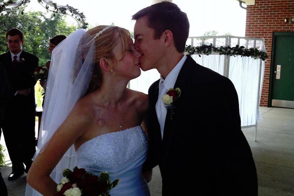 La pareja se casó en 2011 cuando los dos tenían 20 años. (Foto: Facebook, Dalton and Katie Prager's)