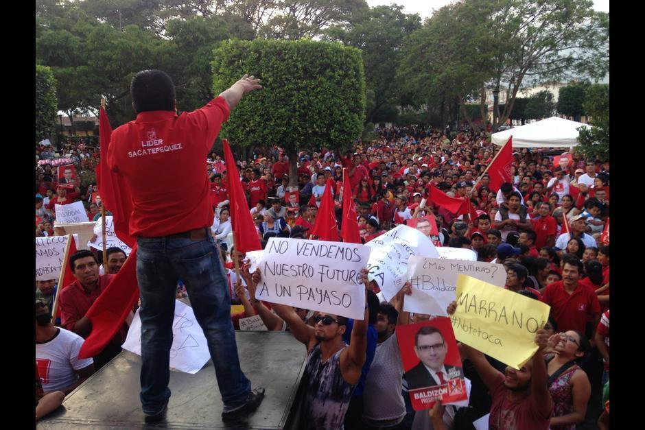 """El movimiento """"No te toca"""" se extendió por todo el país. (Foto: Archivo/Soy502)"""
