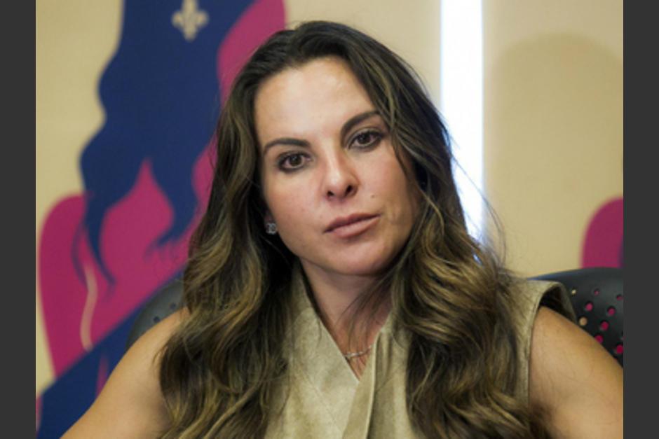 Kate del Castillo asegura que teme por su vida y que no sabe cuando volverá a México. (Foto: Twitter)