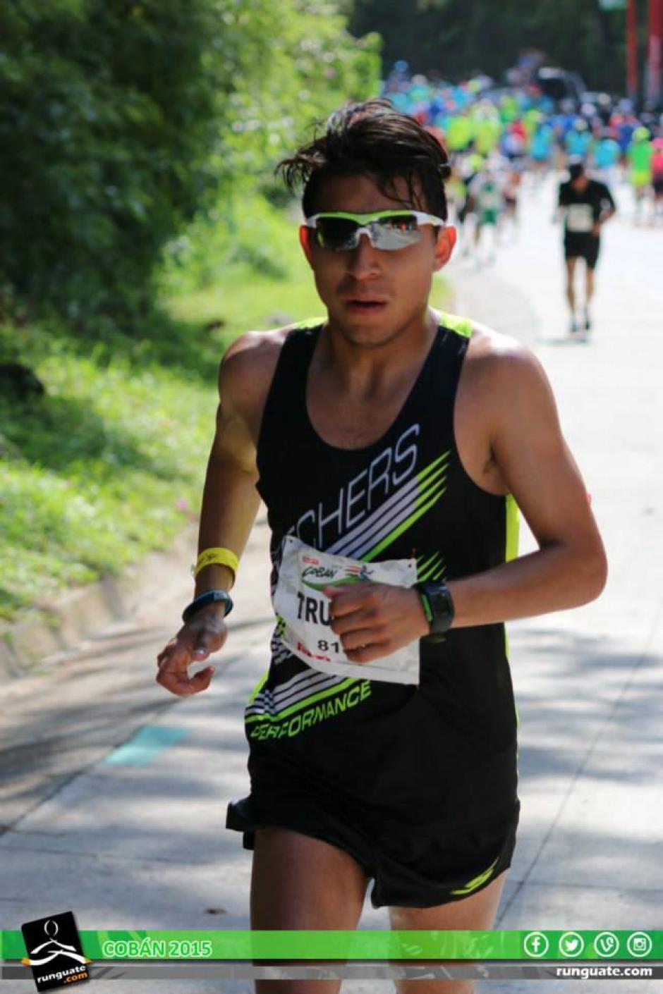 Trujillo ha participado en algunas competencias en Guatemala. (Foto: Facebook Carlos Trujillo)