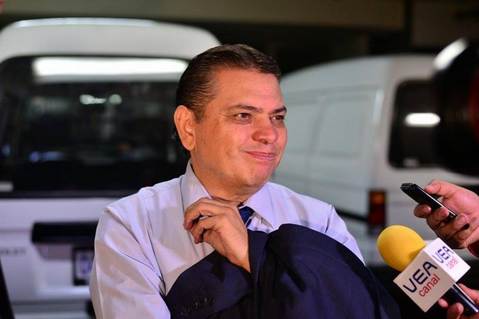 Filadelfo Reyes, intendente de aduanas es otro de los detenidos. Aparentemente, los involucrados habrían participado en la elobarción de contratos anómalos. (Foto: Wilder López/Soy502)