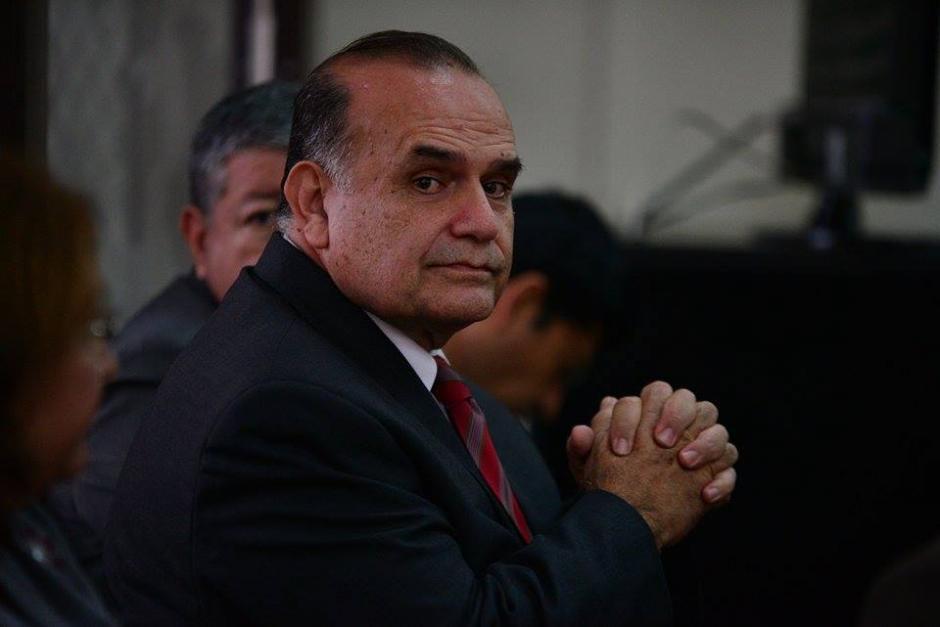 Mario Fernando Peralta Castañeda, exjuez de Niñez y Adolescencia de Escuintla. Se le enjuició por su participación en la red de adopciones internacionales. (Foto: Wilder López/Soy502)