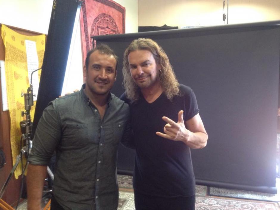 Franz realizó un video para un concierto de Maná. (Foto: Franz Álvarez)