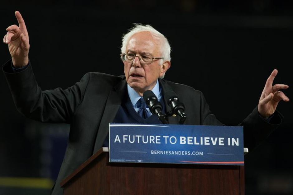 Bernie Sanders fue declarado ganador de los caucus de Alaska y Washington. (Foto: EFE)