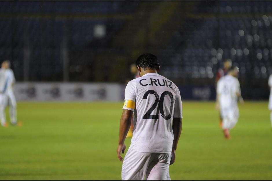 Su último partido oficial fue en septiembre de 2016 con la Selección Nacional. (Foto: Archivo/Soy502)