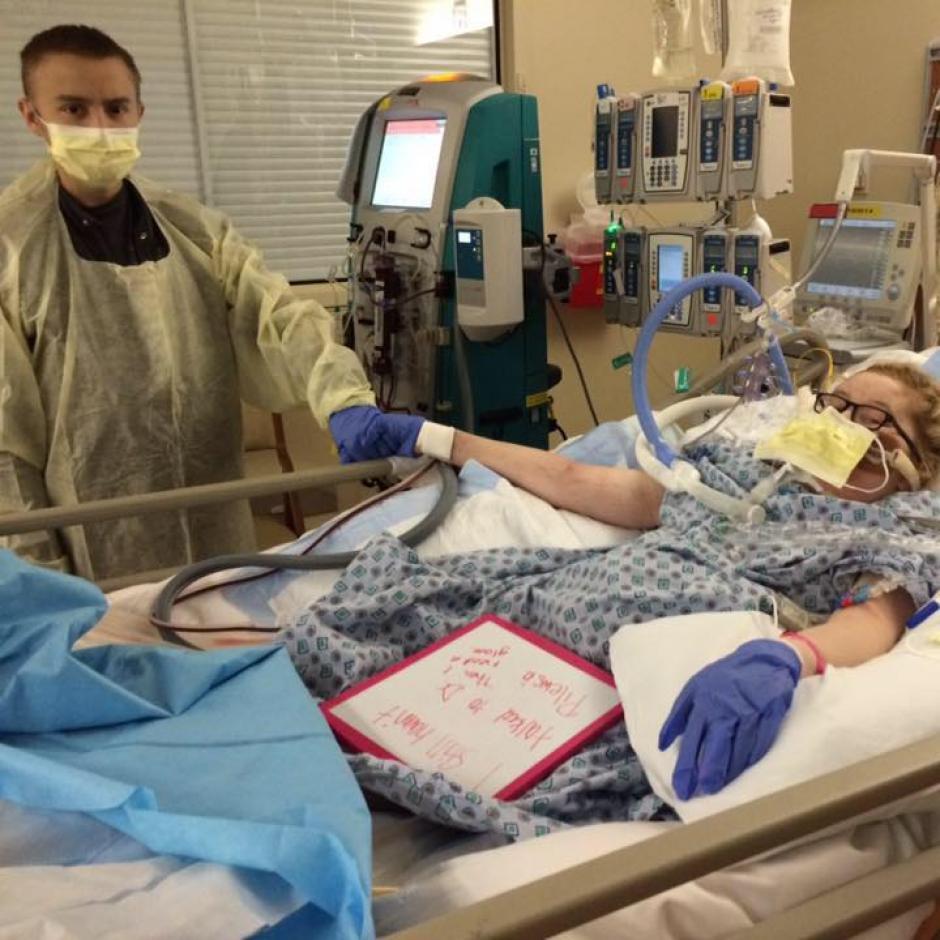Dalton y Katie se han apoyado durante todo este proceso de enfermedad. (Foto: Facebook, Dalton and Katie Prager's)