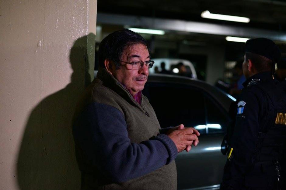 Rodas está a la espera de la audiencia en el juzgado quinto para saber los motivos por los que fue detenido. (Foto: Wilder López/Soy502)