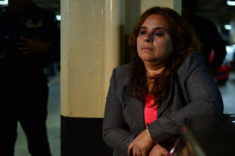 Lucrecia Roca,Jefe departamento normativo de laSAT, fue capturada en la ruta a El Salvador la mañana de este jueves. (Foto: Wilder López/Soy502)