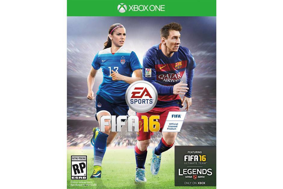 Varios medios hacen oficial que Alex Morgan acompañará a Lionel Messi en la portada de FIFA 16. (Imagen: FB Sports Center)