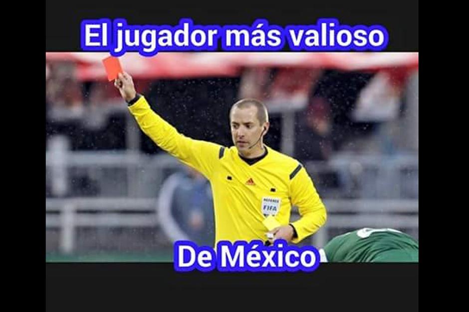 El central estadounidense del juego México-Panamá también fue objeto de críticas. (Foto: elmundo.sv)
