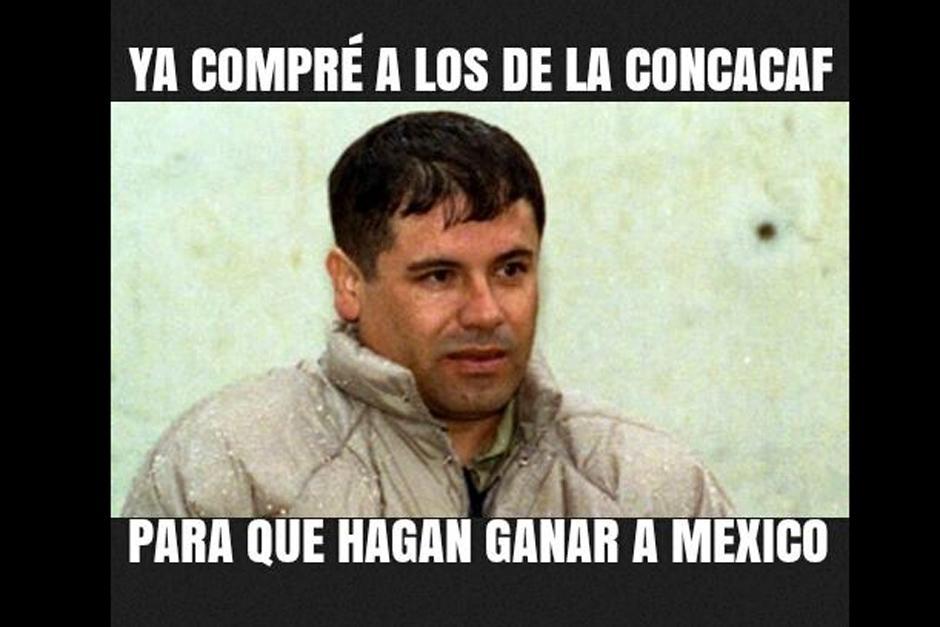 """Hasta el """"Chapo"""" salió a relucir en """"memes"""" tras la polémica eliminación de Panamá. (Foto: elmundo.sv)"""