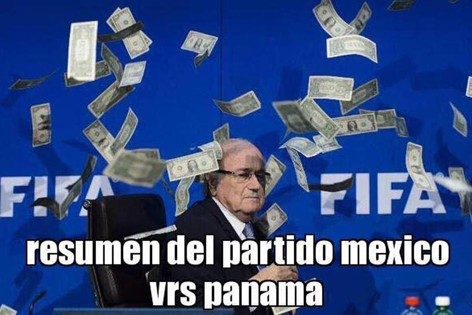 El incidente sufrido por Blatter recientemente sirvió de inspiración para algunas bromas