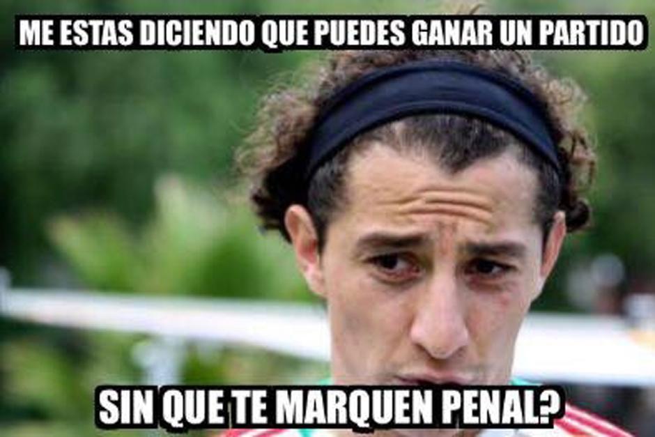 Guardado cobró el último penalti de México, ante Panamá. (Foto: elmundo.sv)