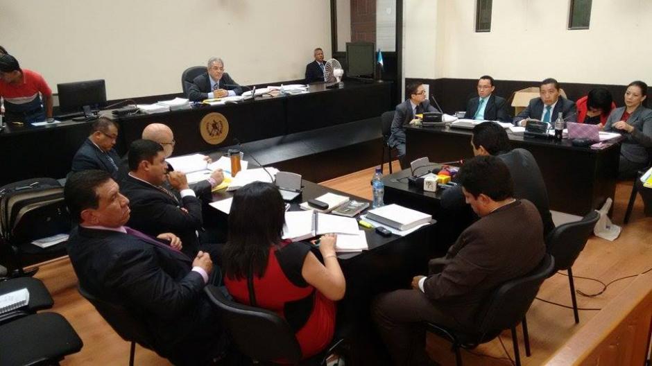 """La defensa de """"Chico Dólar"""" había solicitado que la Prensa no estuviera presente en la audiencia de este martes.(Foto: Wilder López/Soy502)"""