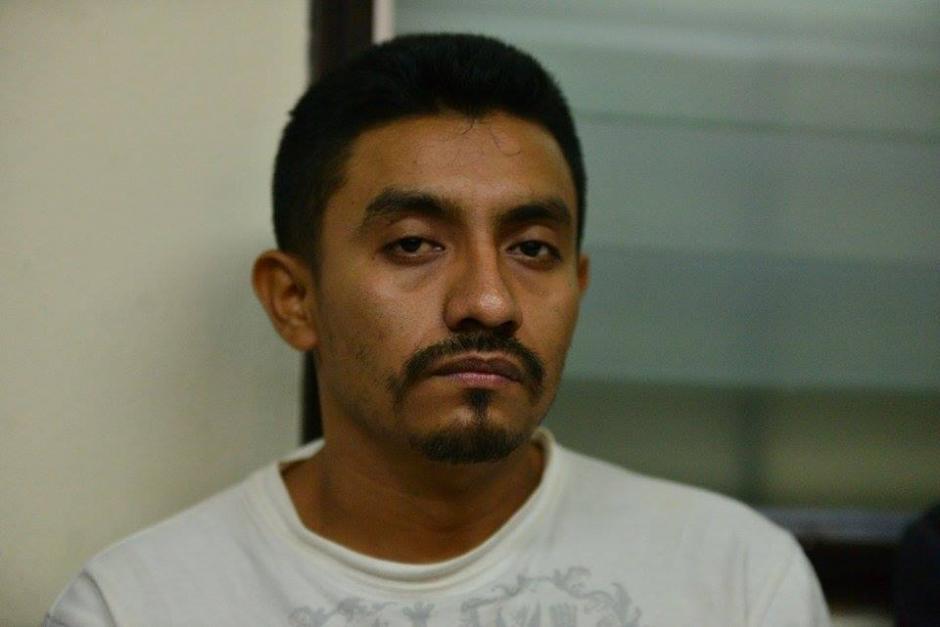 Juan Antonio Mateo también fue detenido por participar en el crimen. (Foto: Wilder López/Soy502)