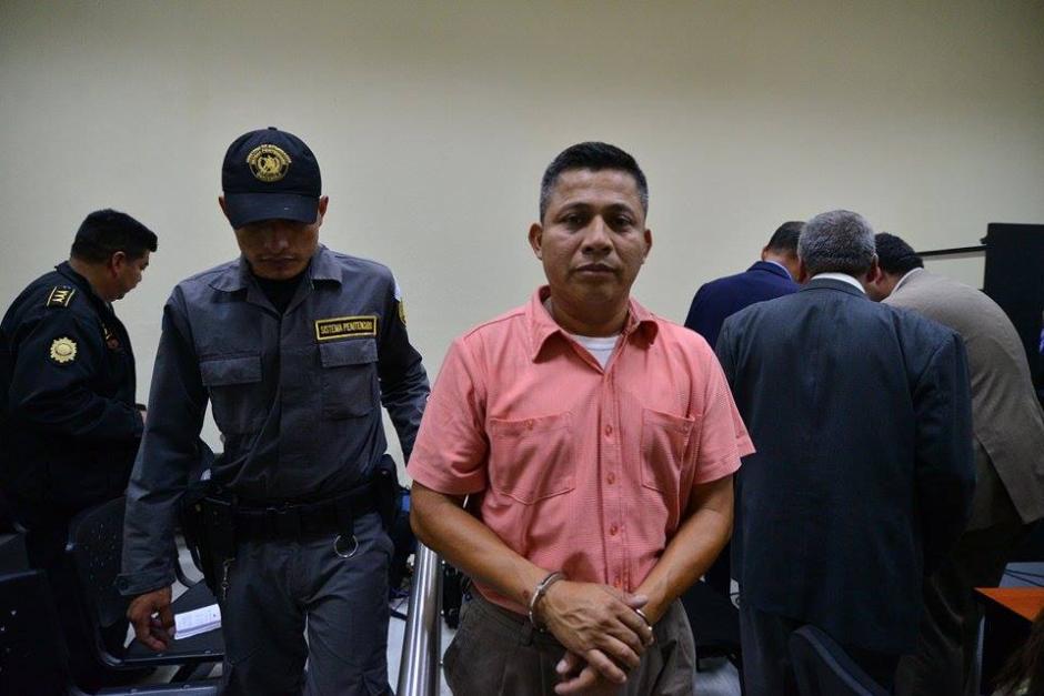 Mardoqueo Ajquí fue ligado a proceso por el delito de coacción. (Foto: Wilder López/Soy502)
