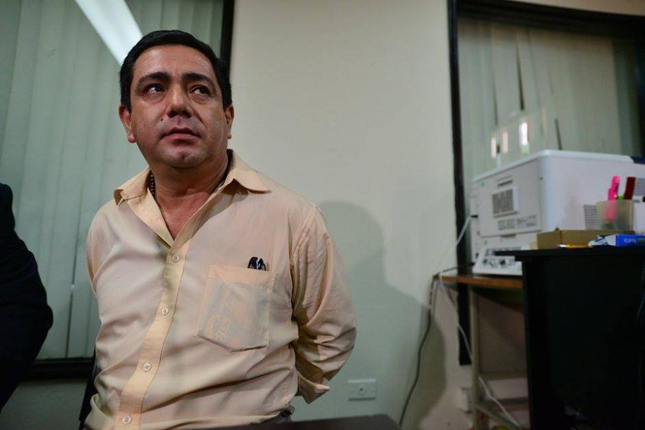 Otto Alejandro Barrios de León es sindicado de dar muerte a su novia para cobrar seguro de dos millones de quetzales. (Foto: Wilder López/Soy502)