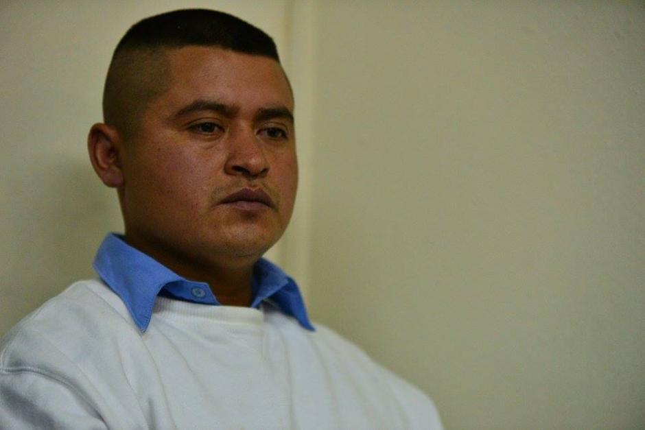 Oscar Atilio Martínez es señalado de participar en el asesinato de la novia de Barrios de Léon.(Foto: Wilder López/Soy502)