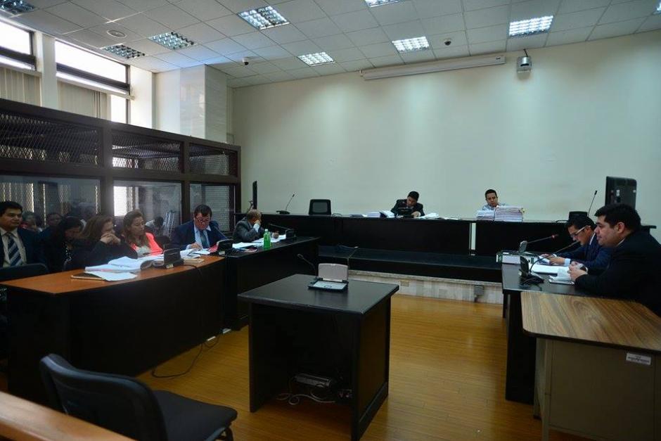 La audiencia de apertura a juicio se realizó en el 15 nivel de Tribunales. (Foto: Wilder López/Soy502)