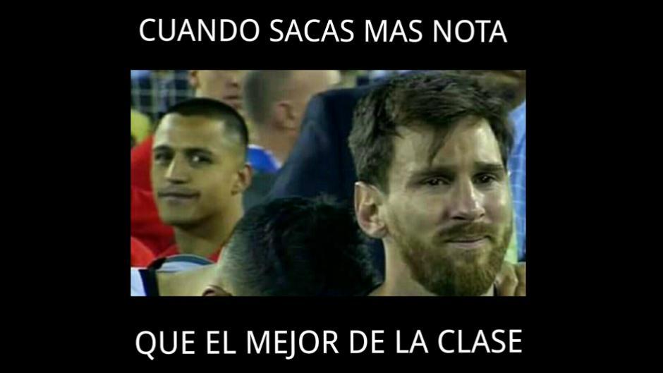 Alexis Sánchez y Lionel Messi, las dos caras de la moneda. (Imagen: trome.pe)