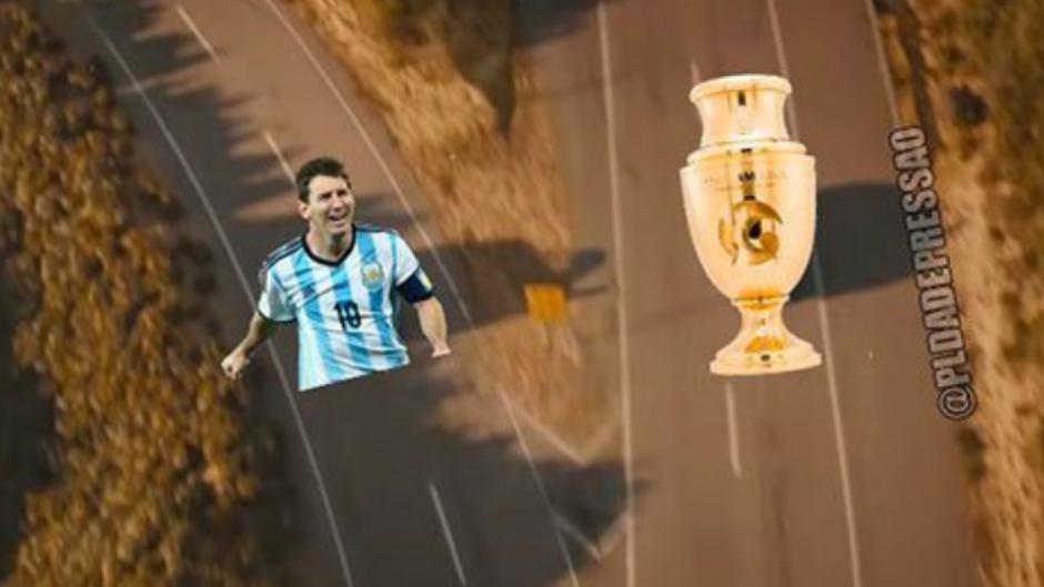 Messi de nuevo tuvo que quedarse con las manos vacías. (Imagen: trome.pe)