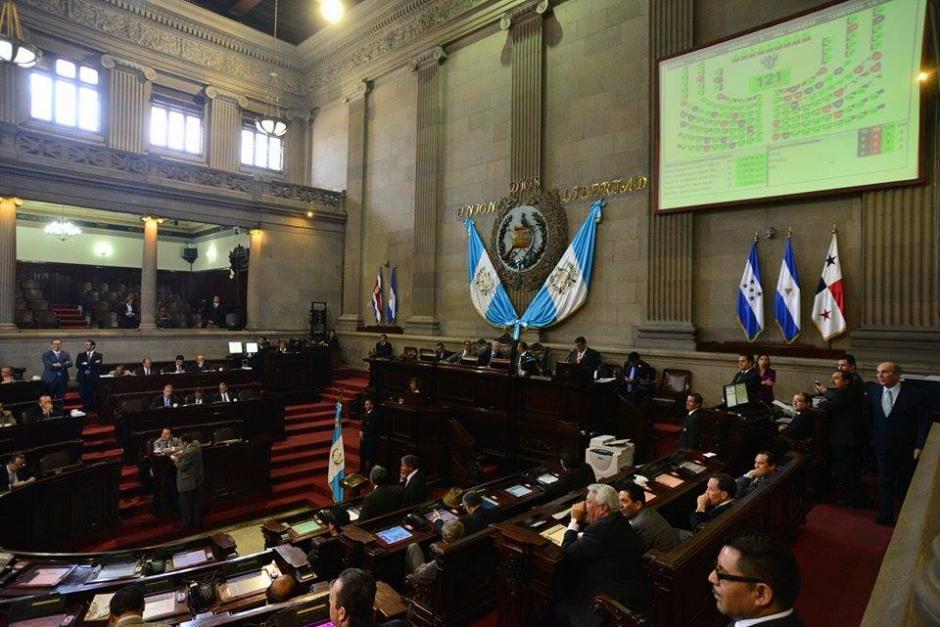 El Congreso conoció en tercera lectura las reformas a la Ley Electoral y el antejuicio contra el presidente, pero ninguno de estos temas prosperó. (Foto: Wilder López/Soy502)