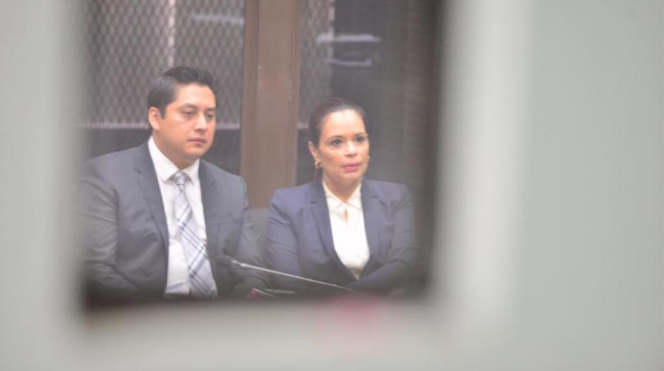 La exvicepresidenta Roxana Baldetti ya se encuentra a la espera de rendir su primera declaración en el Juzgado B de Mayor Riesgo. (Foto: Jesús Alfonso: Soy502)